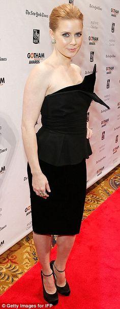 Amy Adams + Black Dress