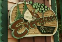 Evergreen Cottage Inn - Sevierville, TN -  Enjoy this romantic bed and breakfast escape in the heart of the Smoky Mountains. A place of shelter, romance, and rest... Make a new world! #SmokyMountains #bedandbreakfast