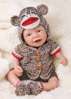 Tiny Miracles Michael Monkey Shines for Ashton Drake