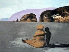 Salvador Dali painting - Adolescence