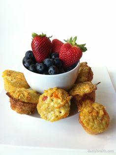 Clean Quinoa Breakfast Cups (Not grain free...)