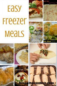 Easy Freezer Meals #