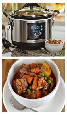 Cooking made slow and simple with this high end slow cooker from #HGNJ