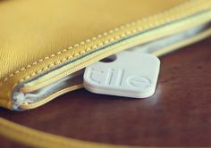 Just attach, stick or drop your Tile into any item you might lose. Then use the iOS app to keep track of it.