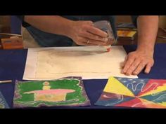 Easy Fabric Batik with Glue - Lesson Plan