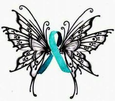 If I were to get another tattoo ever. This will be it.  The teal ribbon represents PCOS awareness.