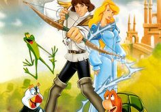 The Swan Princess. Easily my most favorite movie