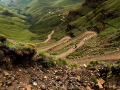 Sani Pass from South Africa to Lesotho