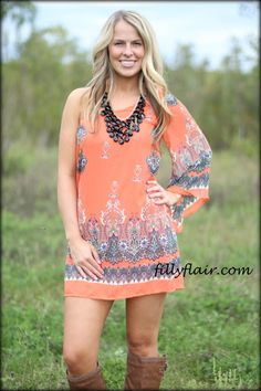 All in for Fall one shoulder dress - Filly Flair
