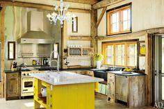 coastal Rhode Island kitchen