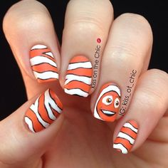 nemo by kiss_ot_chic #nail #nails #nailart