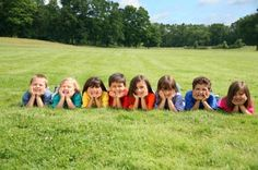 Cute group photo for kids and families