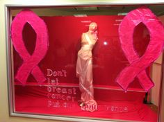 Don't let breast cancer put out your voice -  http://idowindows.wordpress.com/tag/breast-cancer-awareness/