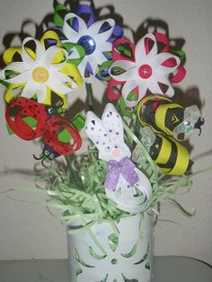 """Easter """"Bow""""quets"""