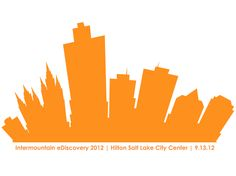 "Logo ""Snapshot"" for the 2012 Intermountain eDiscovery Conference sponsored by Orange Legal Technologies on September 13, 2012, in Salt Lake City, Utah. (OrangeLT.com)"