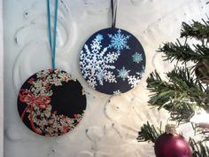 what to do with old CDs | What to do with old CDs? Slap a pretty Christmas card on, add a ribbon ...
