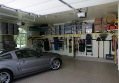 Be able to park the car in the garage again. Get organized!