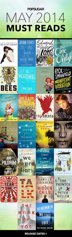 May Must Reads!