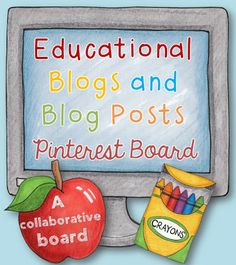 If you're on Pinterest (who isn't?) and you're a teacher, mother, father, tutor, education student, home-schooling parent, carer or just in need some 'ed-spiration' then you will love this collaborative Pinterest board.