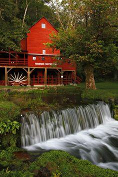 Hodgson Mill in Ozark County near Gainesville, Missouri, USA by Kyle Spradley on 500px