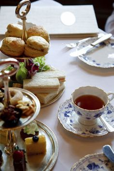 """a pinner said , """"I love going to proper English tea with my mom <3""""  I love tea parties with my granddaughters.  Not always proper :)"""