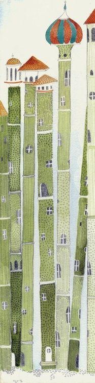 goodmemory:  Bamboo houses por Kristyna Litten via