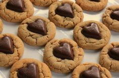 Valentine's Day Recipe – Chocolate Heart Peanut Butter Cookies