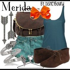 brave, style, cloth, merida, disneyland outfits, inspired outfits, disney bound, disneybound outfit, disney inspir
