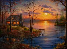 Sunset Cove- Abraham Hunter