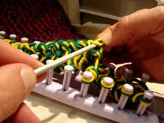 How to: Finish/Cast Off on a Loom Knifty Knitter