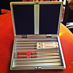 www.NeptuneCigar.com Father's Day Ideas Travel Humidor and Cigars