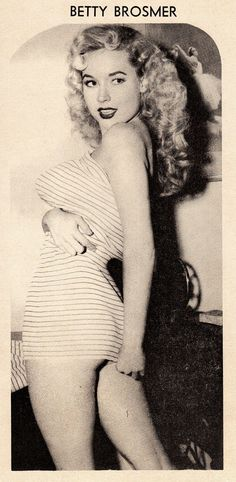 Betty Brosmer! http://thepinuppodcast.com features pinup models and pin up photographers
