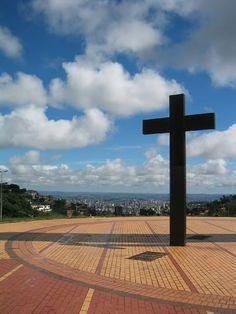 Belo Horizonte from Praca do Papa