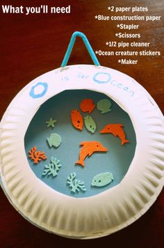 O is for ocean... Can do themed writing, practice our denealian, do some readin about ocean animals, and decorate our classroom :) love it!