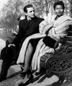 Jazz Singer, Pearl Bailey and her husband Jazz Pianist-Louis Bellson.