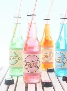 Pretty #pastels and more flavor sodas
