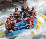 Rafting in Alaknanda River in Rishikesh Uttarakhand India