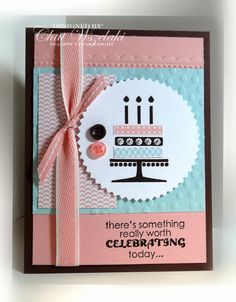 Stampin' Up! Birthday Embellished Events by Me, My Stamps and I
