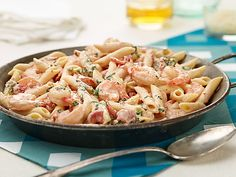 Summer Weeknight Pasta Dinners Videos : Shrimp Scampi Food Network - FoodNetwork.com