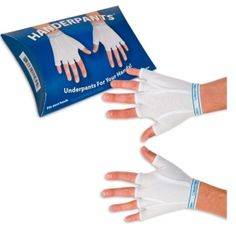 Handerpants - tighty whities now for your finger crotches, too!
