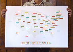 graphic, flags, 50 states, poster, world maps