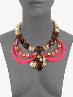 Marc by Marc Jacobs  Claude Collar Necklace