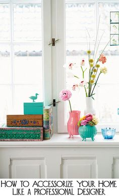 These Tips and Tricks for How to Accessorize Your Home Like a Professional Designer make us #HomeGoodsHappy