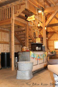 Barn Party  http://theblueroan.blogspot.com