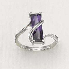 purple, blue green, sterling silver rings, purpl ring, jewelri, blues, thing, ring 35, purpl passion