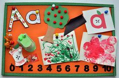 letter ad, letter game, tot school, letter aa, craft idea, tilleri tot, school letter, letters, school idea