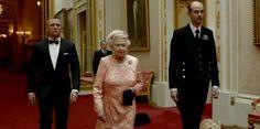 James Bond on her Majesty's Olympic Service