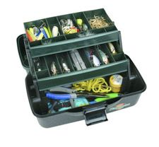 Yes, it is a tackle box but what a great way to keep office/1st aid supplies organized :)