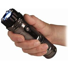 For when you can't carry. The Zap Light stun gun with 1 million volts also incorporates a flashlight. Self defense at night when walking to the car, walking the dog, jogging or where it is illegal to carry a gun. #selfdefense #stunguns #personalprotection