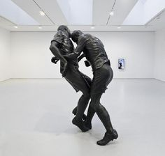 The infamous Zidane headbutt at the World Cup is now a statue.